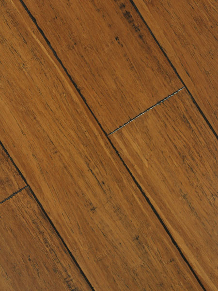 Antique strand woven bamboo flooring